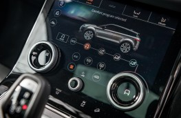 Range Rover Evoque, 2019, display screen