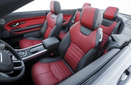Range Rover Evoque Convertible, seats