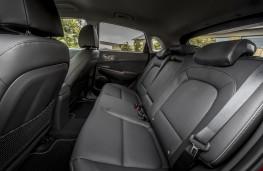 Hyundai Kona Electric, 2018, rear seats