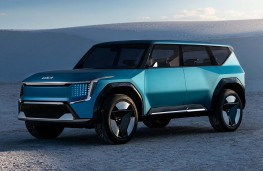 Range Rover Evoque Ember special edition, side