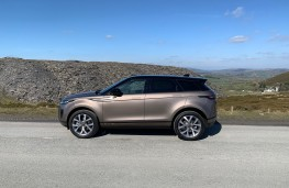 Range Rover Evoque, side, static