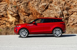 Range Rover Evoque, 2019, side