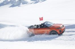Range Rover Evoque Convertible, side, action