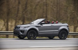 Range Rover Evoque Convertible, side