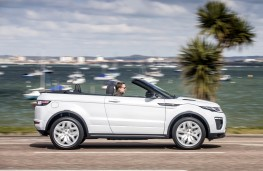 Range Rover Evoque Convertible, side, action