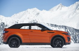 Range Rover Evoque Convertible, roof up
