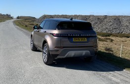 Range Rover Evoque, tail