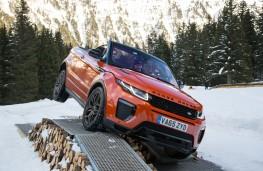 Range Rover Evoque Convertible, axle twist