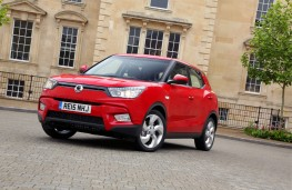 SsangYong Tivoli EX, front, static