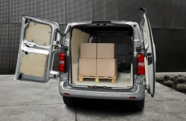 Peugeot Expert, 2016, load space