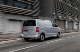 Peugeot Expert, 2016, rear, action