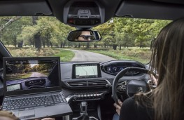 Peugeot driver eye testing, 2018