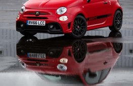 Abarth 595, front