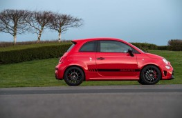 Abarth 595, side