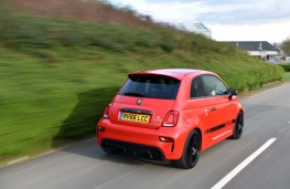 Abarth 595, rear