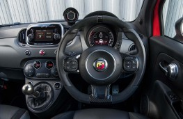 Abarth 595, interior