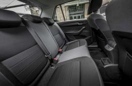 Skoda Fabia, 2018, rear seats