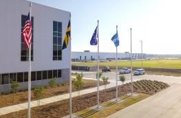 Volvo Charleston factory, 2018, front