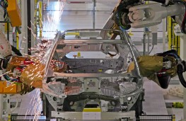 Volvo Charleston factory, 2018, robot