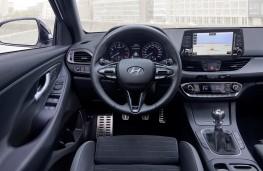 Hyundai i30 Fastback N Line, 2018, interior