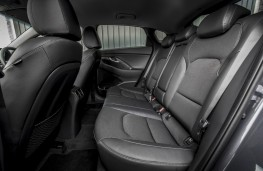Hyundai i30 Fastback, 2018, rear seats