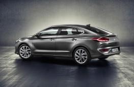 Hyundai i30 Fastback, 2017, rear