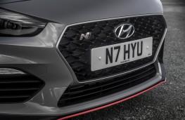 Hyundai i30 Fastback N, 2019, grille