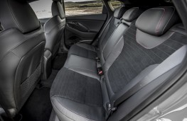 Hyundai i30 Fastback N, 2019, rear seats
