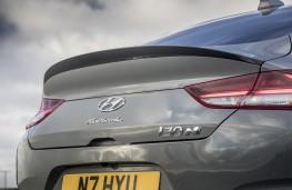 Hyundai i30 Fastback N, 2019, rear spoiler