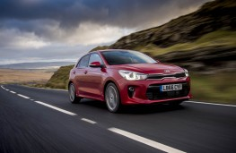 Kia Rio 1.0 T-GDi First Edition, 2017, front, action