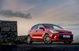 Kia Rio 1.0 T-GDi First Edition, 2017, front, static