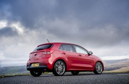 Kia Rio 1.0 T-GDi First Edition, 2017, rear, static