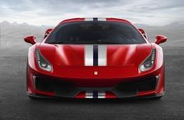 Ferrari 488 Pista front
