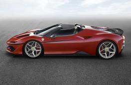 Ferrari J50 side