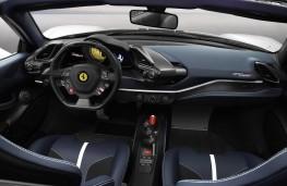 Ferrari Pista Spider cabin
