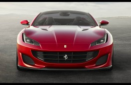 Ferrari Portofino head on