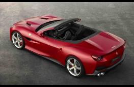 Ferrari Portofino overhead