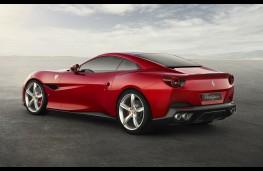 Ferrari Portofino rear