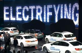 BMW electric line up, Frankfurt Motor Show 2017