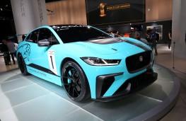 Jaguar I-PACE E Trophy, front, Frankfurt Motor Show 2017
