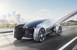 Jaguar Future-Type concept, front, Frankfurt Motor Show 2017