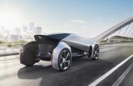Jaguar Future-Type, rear, Frankfurt Motor Show 2017