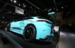 Jaguar I-PACE E Trophy, rear, Frankfurt Motor Show 2017