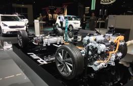 Kia Niro hybrid powertrain, Frankfurt Motor Show 2017