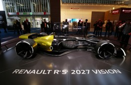 Renault RS 2027 Vision, electric F1 car, Frankfurt Motor Show 2017