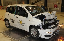 Fiat Panda after Frontal Full Width test