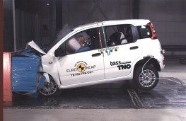 Fiat Panda Frontal Offset Impact test