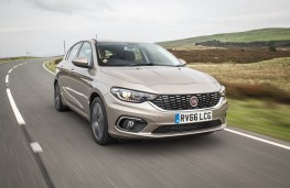 Fiat Tipo, front action