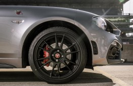 Fiat 124 Abarth GT alloy wheel