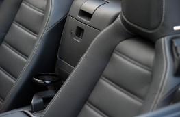 Fiat 124 Spider, seat detail